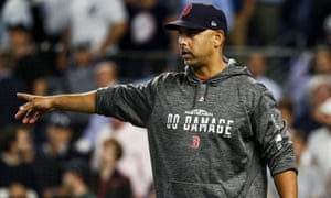 Alex Cora helped the Red Sox win the World Series last year