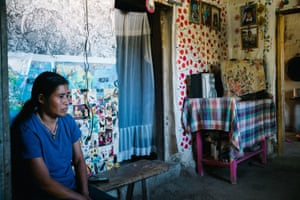 Activist Maria Santos Dominguez was severely injured when she was attacked with a machete by villagers who support a proposed dam