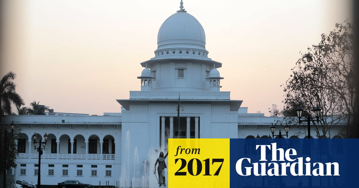 Lady Justice statue in Bangladesh is removed after Islamist