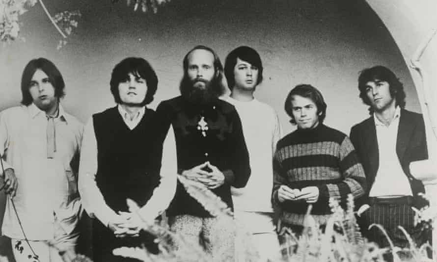From left: Carl Wilson, Bruce Johnston, Mike Love, Brian Wilson, Al Jardine and Dennis Wilson.