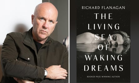 Author Richard Flanagan and his new book The Living of Waking Dreams for Guardian Australia book review 14 Oct 2020
