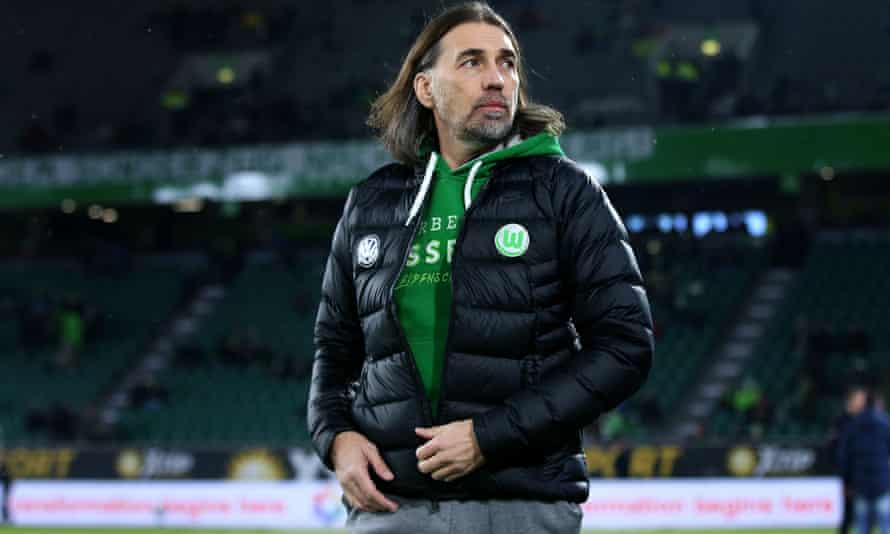 Wolfsburg's Swiss head coach Martin Schmidt has brought stability to the club