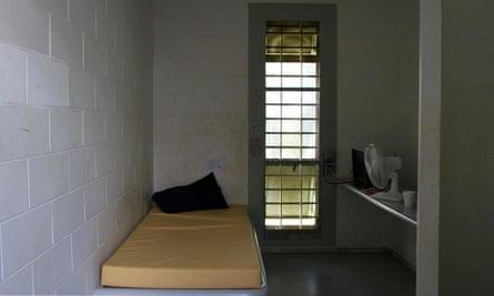 A photo from Don Dale juvenile detention centre in Darwin, Australia.