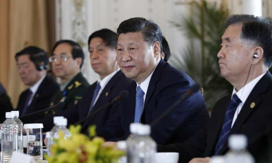 Xi Jinping in talks at Mar-a-Lago on Friday
