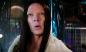 Benedict Cumberbatch as a transgender model in Zoolander.