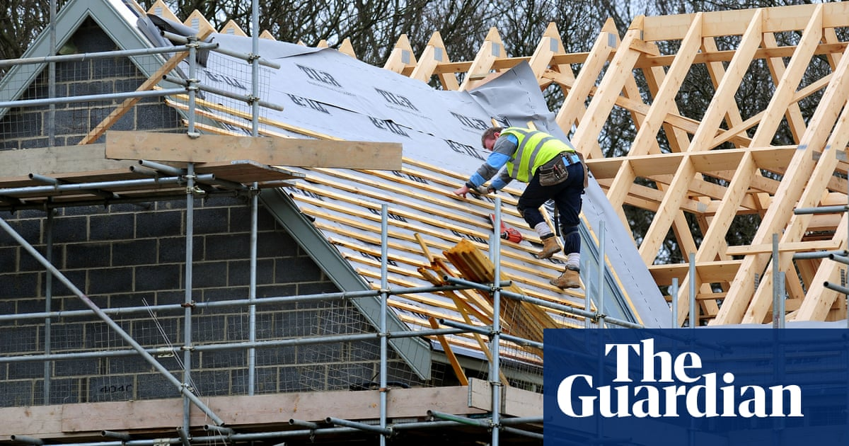 UK building firms hit as materials and staff costs 'go through the roof'