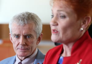 One Nation will be running Malcolm Roberts, pictured, against Fraser Anning, who replaced him in the Senate