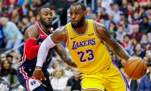 The Lakers feature star players such as LeBron James