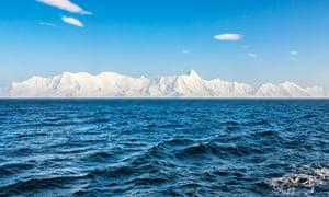 Drake Passage near Antartica.