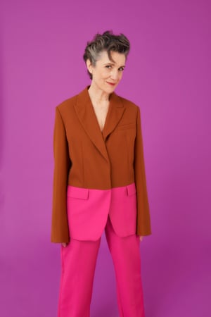 Actor Harriet Walter, photographed for the Observer Magazine.