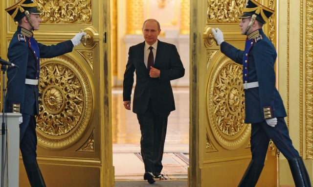 Vladimir Putin S Walk The Gunslinger Gait Video World News The Guardian