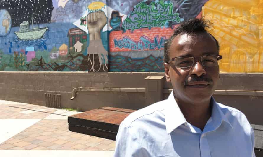 Community organizer Abdirizak Bihi