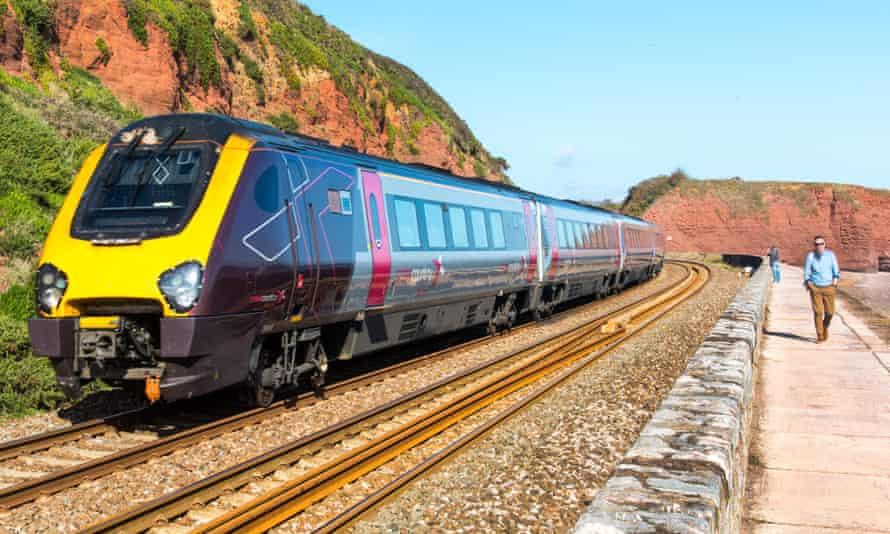 An Arriva CrossCountry train