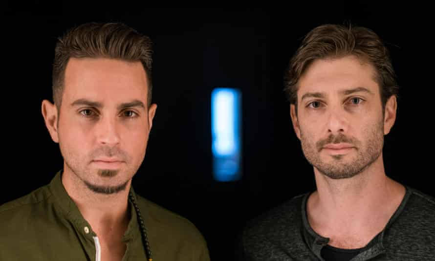 Jackson's accusers Wade Robson, left and James Safechuck.