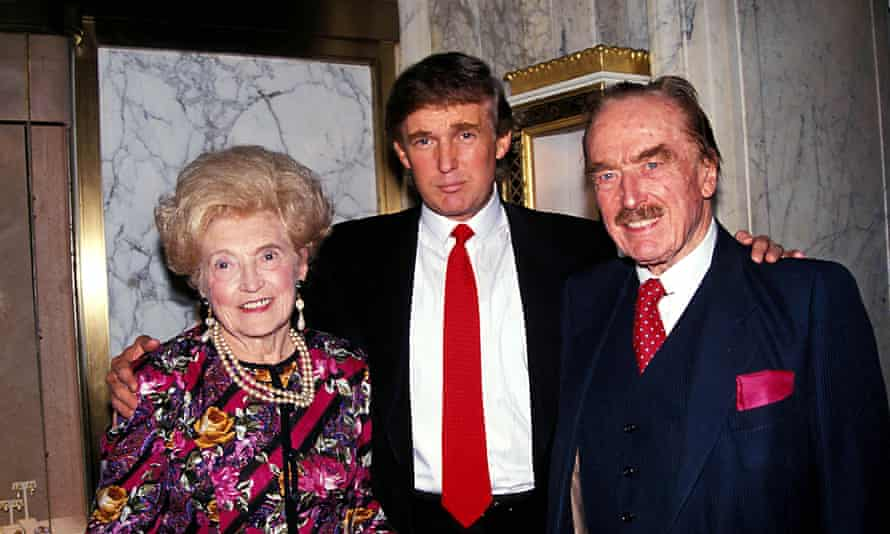 'I stood up to him, and he respected that,' Donald Trump said of his father.
