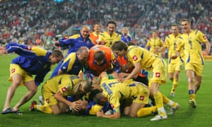 Ukraine go through. Finally.