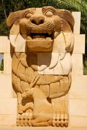 The Lion of Al-lāt in Palmyra