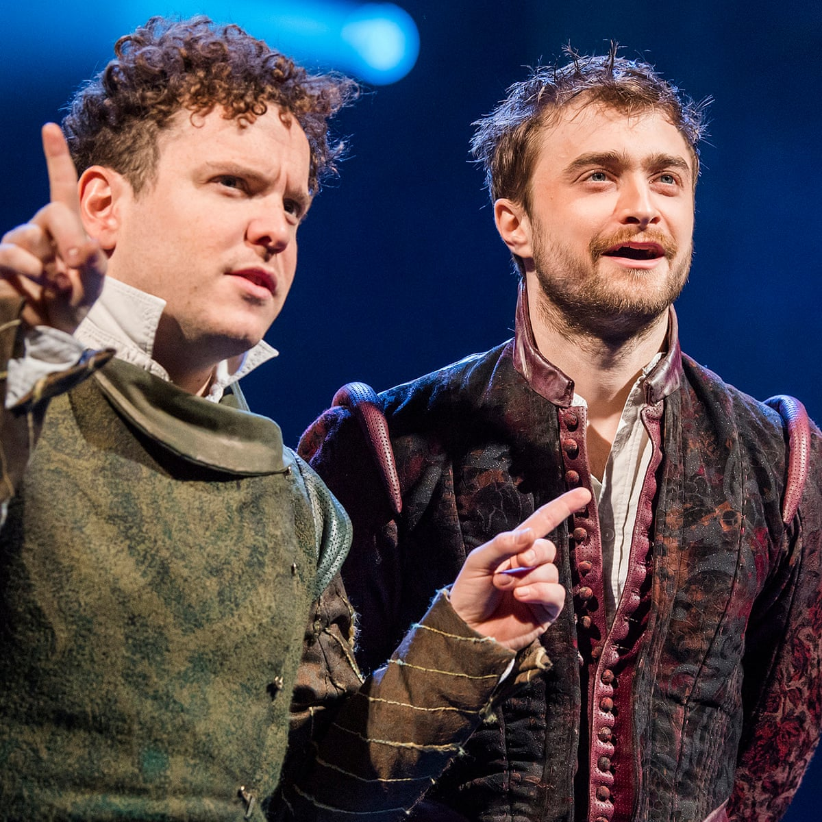 Rosencrantz and Guildenstern Are Dead review – a great double act   Theatre    The Guardian