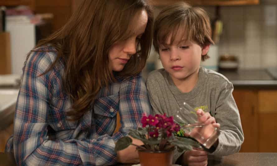 Caught in a satanic Eden … Brie Larson and Jacob Tremblay in Room