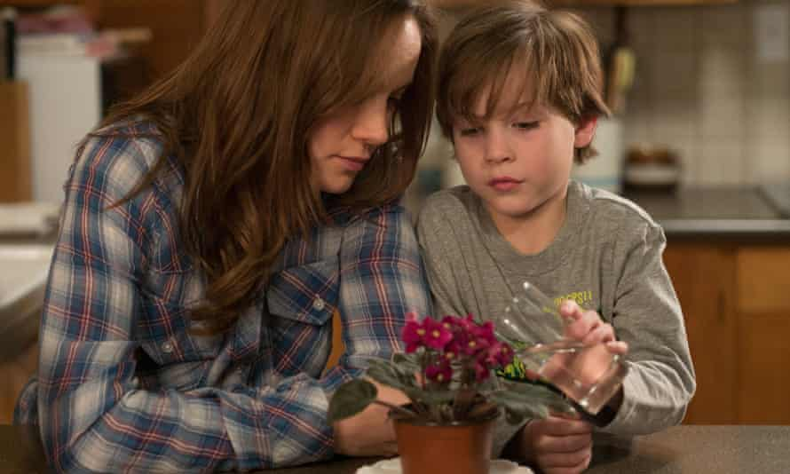 'Somehow, Ma has made this living hell a fairytale:' Brie Larson and Jacob Tremblay in Room.