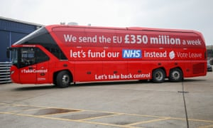 The Vote Leave bus.
