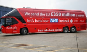 The Vote Leave campaign's lies have not hurt its politicians, who are 'flourishing today like weeds in a well-manured bed'