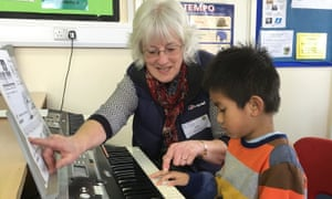 Teacher Ann Bladon is one of the 50-strong Swindon Music Co-operative