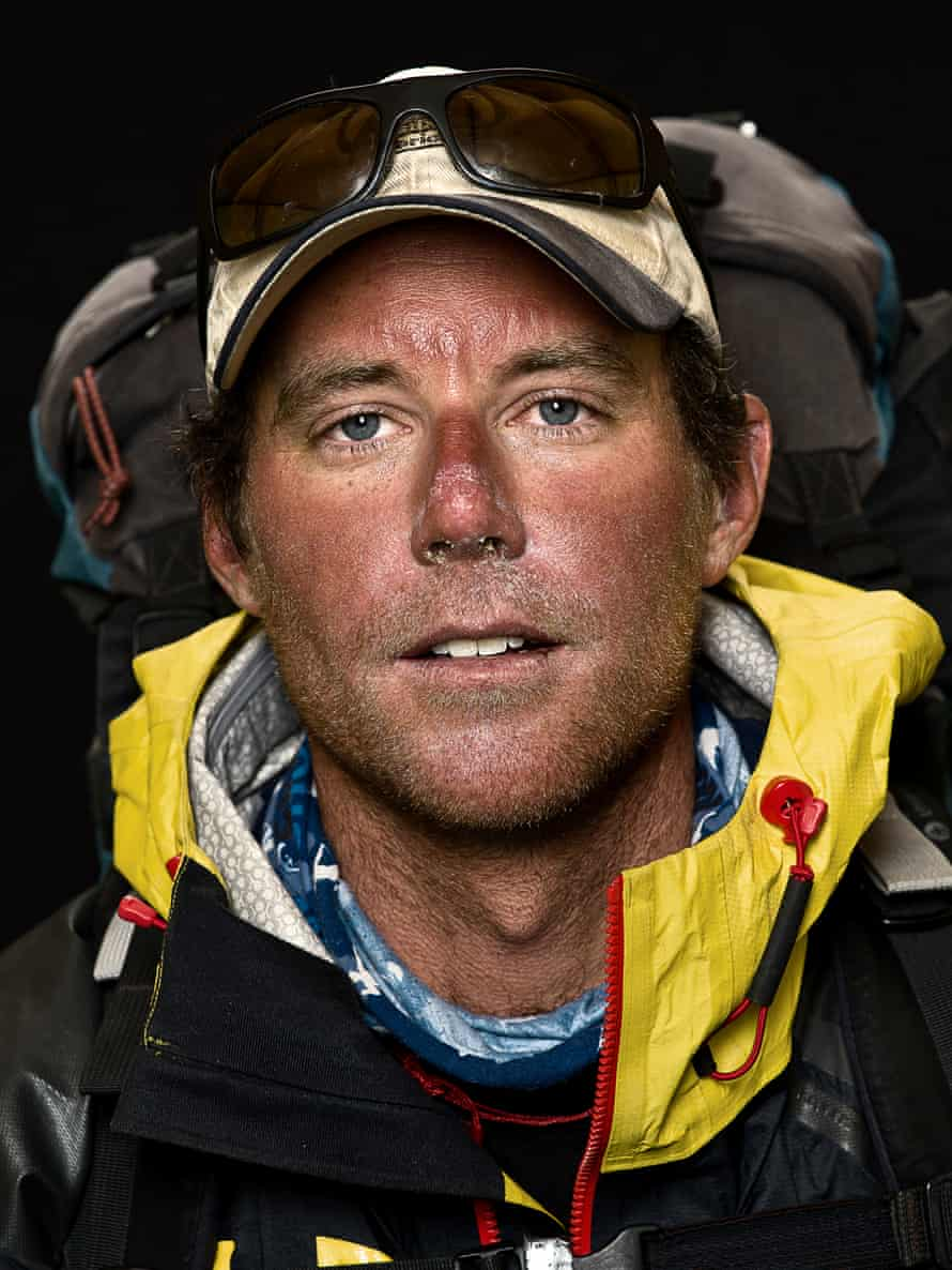 Richie Hunter, a mountain guide from New Zealand