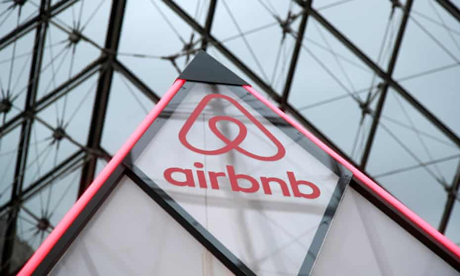 Airbnb was founded by CEO Brian Chesky, a 37-year-old former bodybuilder, with two former roommates in 2008, by renting air mattresses in a room in San Francisco