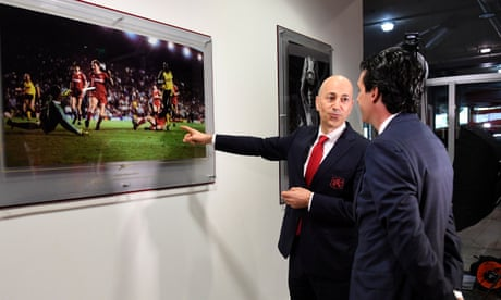 Arsenal opt for change in management structure as Gazidis joins Milan