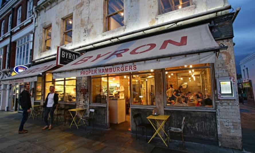 Byron restaurant in London