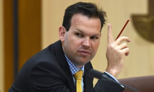 Matthew Canavan's intervention was condemned as 'epitomising the short-sighted political era we live in'.