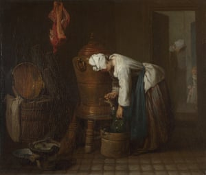 La Fontaine (The Water Cistern), 1733. Artist: Chardin, Jean-Baptiste Siméon (1699-1779)La Fontaine (The Water Cistern), 1733. Found in the collection of the National Gallery, London. (Photo by Fine Art Images/Heritage Images/Getty Images)