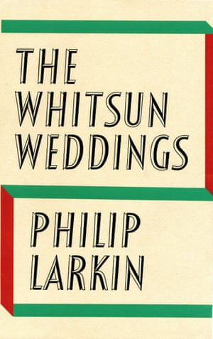 The Faber edition of Philip Larkin's The Whitsun Weddings.