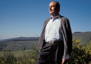 Jacques Chirac in 1991.