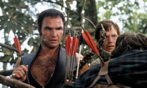 Burt Reynolds in Deliverance, the film that made Boorman a Hollywood A-lister.