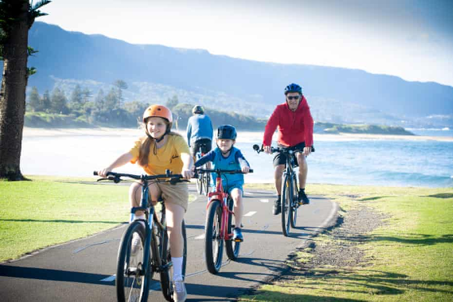 The council's cycling strategy is to develop more separated cycle paths that connect riding routes along the east-west to town centres and residential areas.