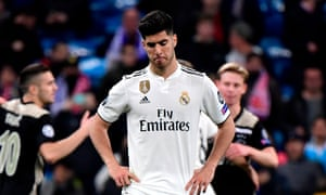 Marco Asensio weighs up his options.