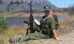 'Before arriving to the Donbas, I had no experience handling weapons, let alone experience in combat'