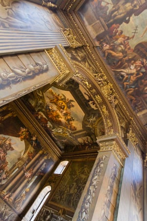 The Painted Hall arch