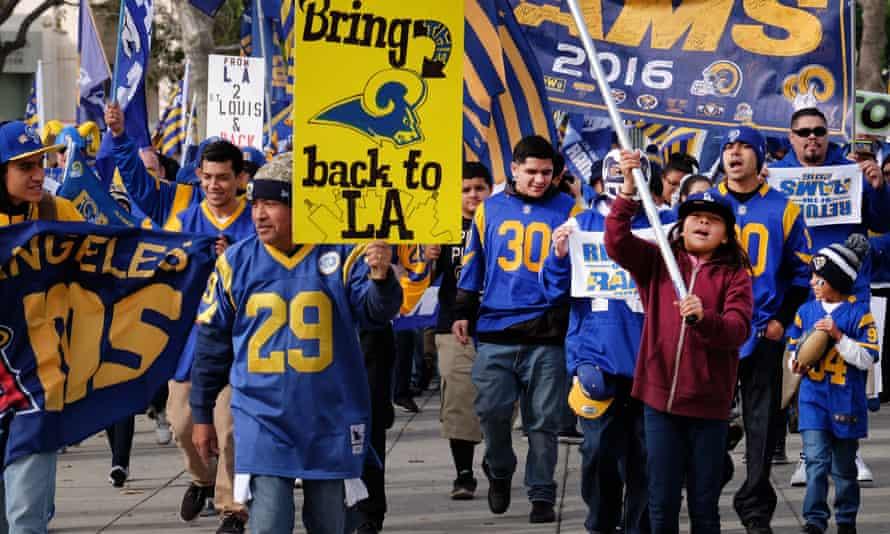 LA's NFL fans