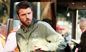 Michael Carrick, who is set to play the final match of his career before retirement.