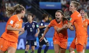 Netherlands v Japan