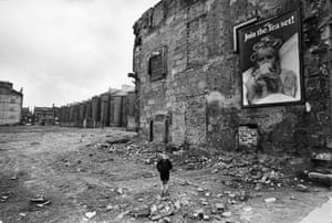 The Gorbals in Glasgow on 18 May 1968