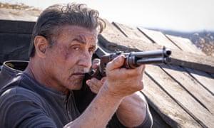 """Sylvester Stallone as John Rambo in a scene from """"Rambo: Last Blood."""" (Yana Blajeva/Lionsgate via AP)"""