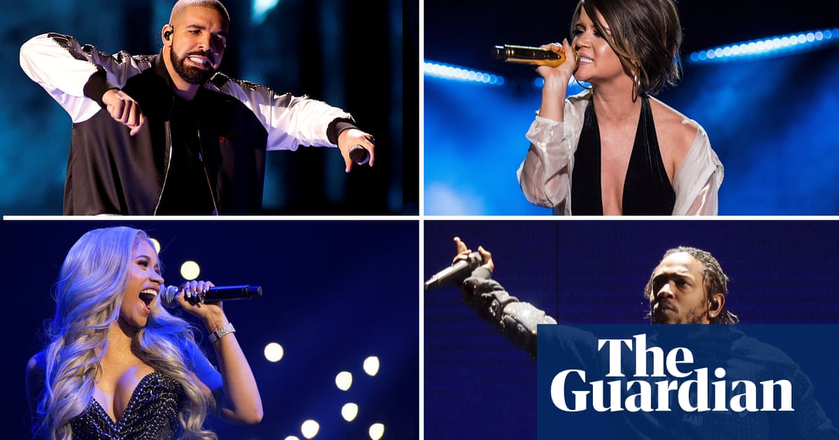 831b164e1369 Grammy nominations 2019: Cardi B, Kendrick Lamar and Drake lead the pack |  Music | The Guardian