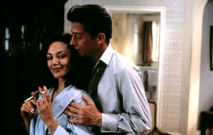 Joanne Whalley and John Hurt in Scandal, 1989