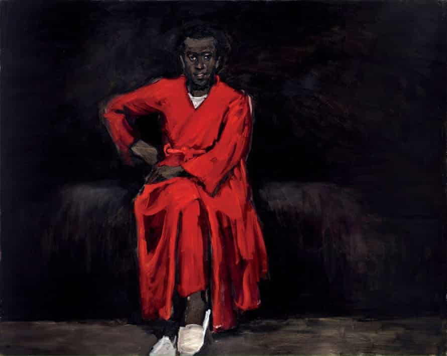 Lynette Yiadom-Boakye's Any Number of Preoccupations, 2010.