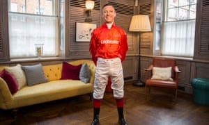 Frankie Dettori is an ambassador for bookmakers Ladbrokes.