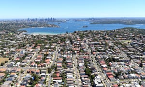 Housing in Sydney's eastern suburbs. HSBC forecasts show prices will be either flat or rise by up to 4% in 2020.